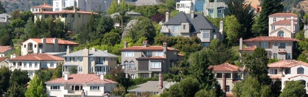 A beautiful neighborhood in Oakland