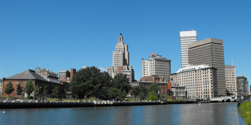 View of downtown Providence, RI