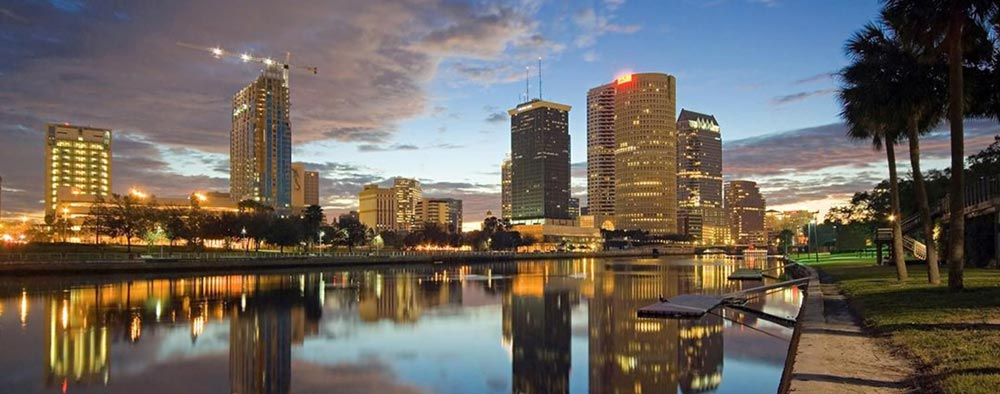 A view of Tampa's waterfront